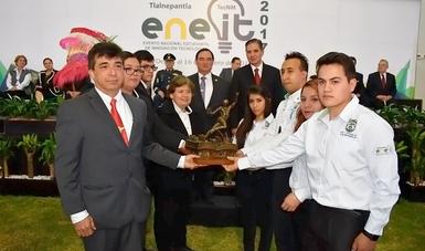 Presentan jóvenes inventores del TecNM proyectos de innovación tecnológica