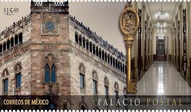 SEPOMEX emite estampilla conmemorativa por el 111 aniversario del Palacio Postal