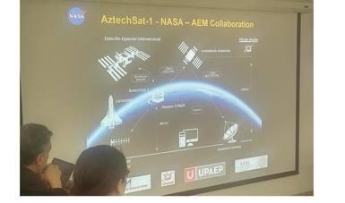 """Lanzarán nanosatélite mexicano """"Aztechsat-1"""" desde Estación Espacial Internacional, en 2019"""