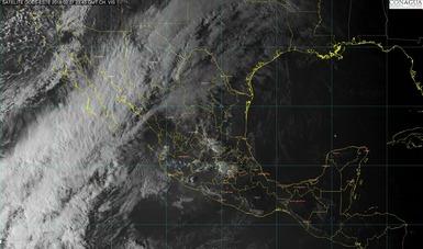 Esta noche se prevé descenso de temperatura, lluvias, vientos fuertes y nevadas en el noroeste de México.