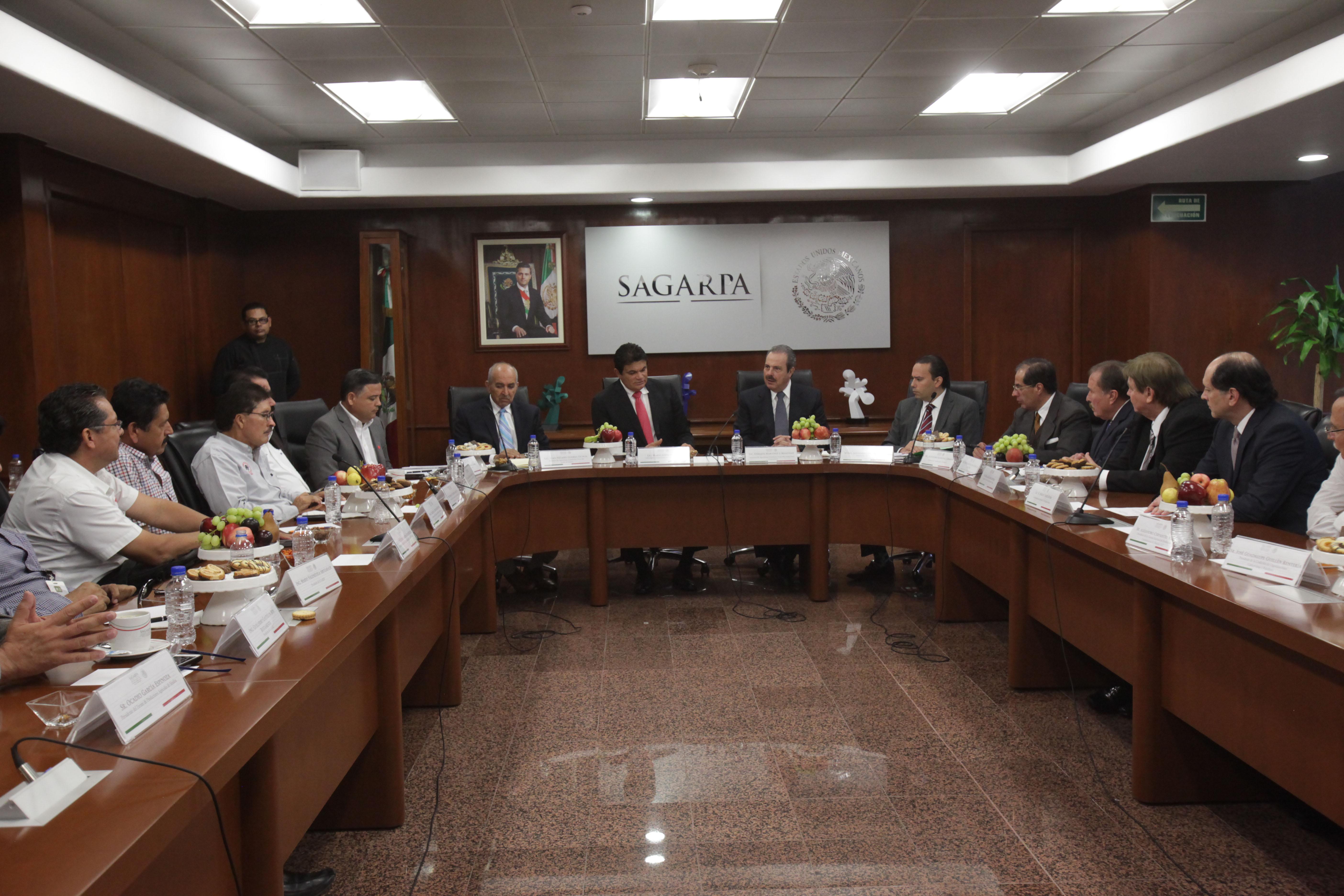 Revisan SAGARPA y productores de Sinaloa esquemas de comercialización y planeación de cultivos