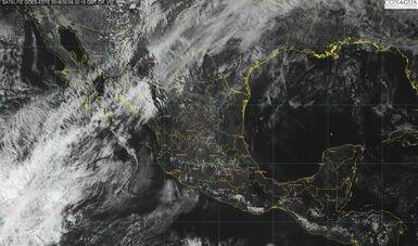 Para las próximas horas se prevén lluvias muy fuertes en Chihuahua y fuertes en Durango y Sinaloa.