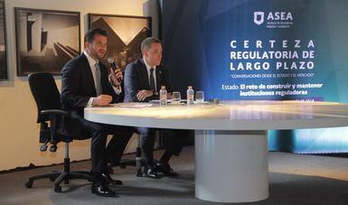 Pacchiano Alamán destacó que la creación de la ASEA fue uno de los grandes aciertos de la reforma energética, ya que dio certeza regulatoria para participar en este mercado.
