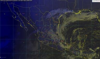 Hoy continuará el evento de Norte con ráfagas mayores a 80 km/h en el Istmo y el Golfo de Tehuantepec.
