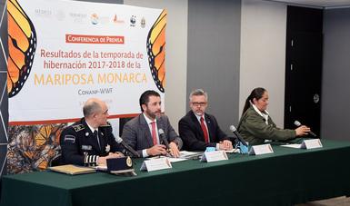 En esta administración, se integraron a la base de datos nacional más de 130 mil datos reportados a través de la Red Nacional de Monitoreo de Mariposa Monarca