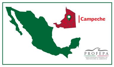 PROFEPA atendió, desde 2014, el daño ambiental ocasionado por una empresa en los predios denominados Villa Rosa, El Caobal, el Freno y el Cuerno, ubicados en el Municipio de Palizada, Campeche