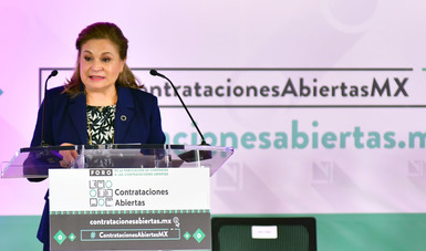 Presenta Alianza para las Contrataciones Abiertas Estándar de Datos de Contrataciones Abiertas para México (EDCA-MX)