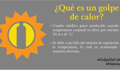Recomendaciones para enfrentar la temporada de calor