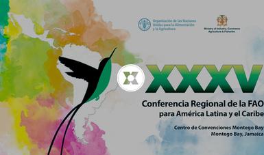 Durante la Conferencia México y FAO firmaron la Carta de Intención para el establecimiento del Fondo México-FAO-CARICOM.