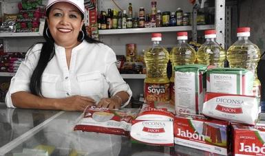 Más de 15 mil 900 tiendas Diconsa en el país tienen como responsable a una mujer