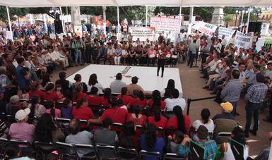 Destacó que 5 años del gobierno del Presidente Enrique Peña Nieto y ya no son promesas sino a entrega de obras a los jaliscienses del sur del estado