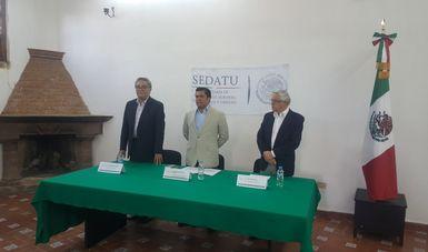 La toma de protesta se realizó en las instalaciones de la delegación de la SEDATU en Guanajuato.