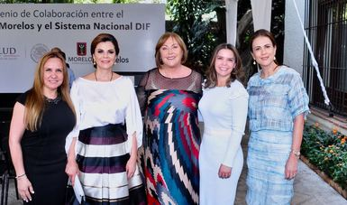 Quinto informe de actividades DIF Morelos.