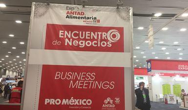 Empresas apoyadas por ProMéxico logran exportaciones por 30 millones de dólares en Expo ANTAD Alimentaria