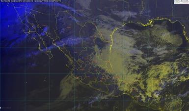 Continúa el evento de Norte con rachas mayores a 60 km/h en la costa sur de Veracruz, el Istmo y el Golfo de Tehuantepec.