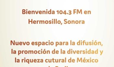 Obtiene la Secretaría de Cultura una nueva estación de radio en Sonora