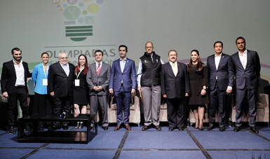 Con estas Olimpiadas, el Instituto busca potenciar el talento humano a través de diversos trabajos que proyecten el cambio cultural de la innovación, destacó en la inauguración el Director General, Tuffic Miguel.