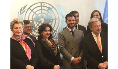 Con el liderazgo conjunto de México e Islas Mauricio y el compromiso de los nueve países miembros del Panel, se presentaron los resultados de dos años de trabajo que plantean diversos escenarios alineados con la agenda 2030 para el Desarrollo Sostenible.