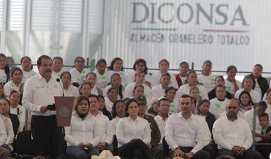 Inauguró el presidente Enrique Peña almacén granelero de Diconsa en Veracruz