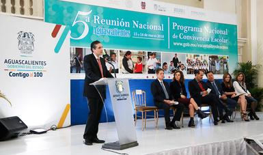 Se realiza la Reunión Nacional del Programa Nacional de Convivencia Escolar