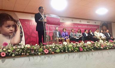 Seguro Popular y DIF Nacional pusieron en marcha la 7ª Etapa de la Campaña Nacional de Implantes Cocleares, que se llevará a cabo del 15 al 28 de Marzo en el Estado de Hidalgo.