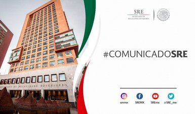 El gobierno de México hace patente su firme y absoluta determinación de aplicar la ley de forma objetiva e imparcial.