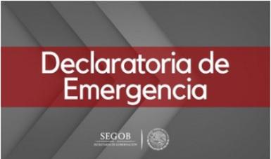 Declaratoria de Emergencia