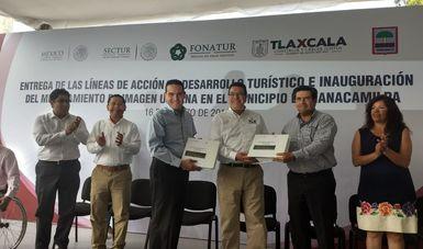 FONATUR ENTREGA LAS LÍNEAS DE ACCIÓN DE DESARROLLO TURÍSTICO PARA NANACAMILPA, EN TLAXCALA.