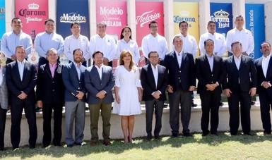 El Secretario de Economía asiste al anuncio de inversión de la Cervecera Constellation Brands en Sonora