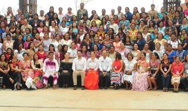 Encuentro Estatal de Alimentación organizado por el Sistema Estatal DIF Oaxaca.