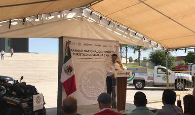 MIGUEL ALONSO REYES REALIZA GIRA DE TRABAJO EN COAHUILA, EN REPRESENTACIÓN DEL SECRETARIO DE TURISMO.