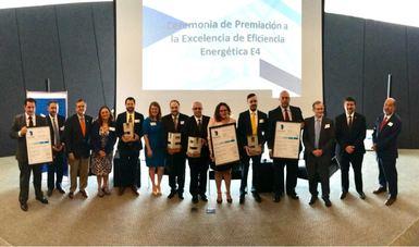 Ceremonia de premiación a la Excelencia de Eficiencia Energética E4