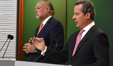 """""""Elconjunto de beneficios que está detrás de esta obra es sin duda una afirmación de la visión de Estado del Presidente Enrique Peña Nieto, quien resuelve necesidades con soluciones eficientes de largo plazo"""": ESH"""