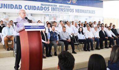 Inauguran Unidad Neonatal que cumple con estrictos estándares internacionales