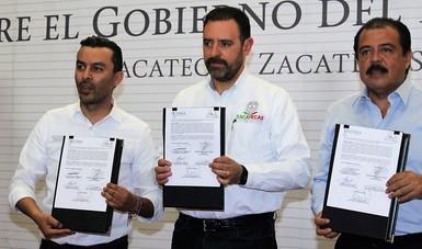 Firman Diconsa y Gobierno de Zacatecas 5° Convenio de Coordinación para la Comercialización del Frijol