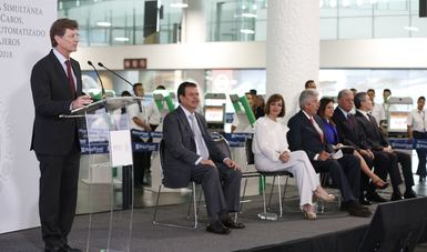 El secretario de Turismo, Enrique de la Madrid, dijo que en México se registran 68 millones de llegadas de pasajeros, 30 por ciento de ellas son arribos al Aeropuerto Internacional de la Ciudad de México (AICM).
