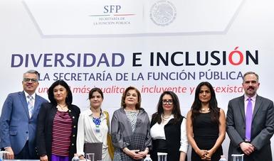 Realiza SFP Encuentro por la diversidad e inclusión laboral en la APF