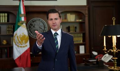 """""""Presidente Trump: Si usted quiere llegar a acuerdos con México, estamos listos. Como lo hemos demostrado hasta ahora, siempre dispuestos a dialogar con seriedad, de buena fe y con espíritu constructivo"""": EPN"""