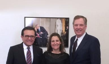 Concluyó gira de trabajo del Secretario de Economía en Washington, D.C.