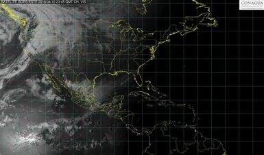 En el centro y el sur de Veracruz se prevén lluvias intensas y posible granizada.