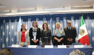 Inauguración del Foro Nacional de Plaguicidas en la CdMx