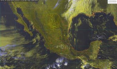 Vientos fuertes, tolvaneras o torbellinos se prevén la noche de hoy en entidades del noroeste, norte y noreste de México.