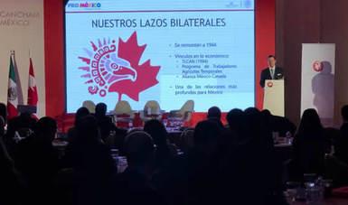 México y Canadá refuerzan lazos comerciales en Cancham Day