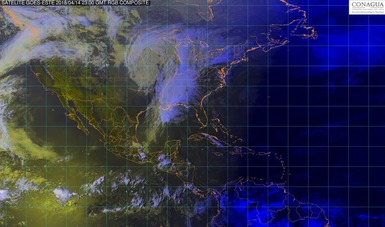 La noche de hoy se prevén tormentas de intensas a torrenciales en regiones de Chiapas, Tabasco, Veracruz y Oaxaca.
