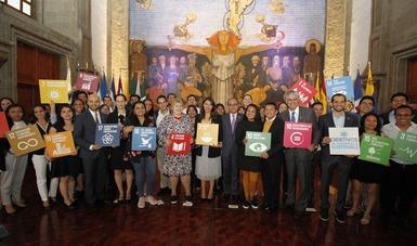 """Realizan Diálogo Entre México Y Noruega: """"Jóvenes Por El Desarrollo Sostenible"""""""