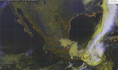 Vientos muy fuertes se prevén para hoy en el Istmo y el Golfo de Tehuantepec, así como en el Golfo de México.