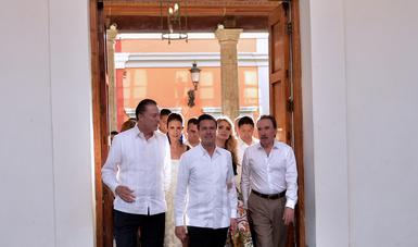 El Primer Mandatario inauguró el Tianguis Turístico México 2018.