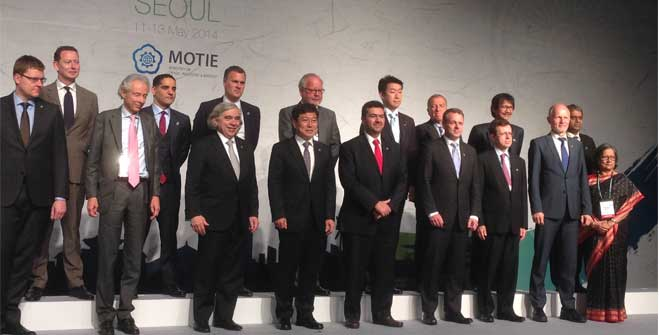 Quinta Reunión Ministerial de Energía Limpia (CEM5) en Seúl, Corea.