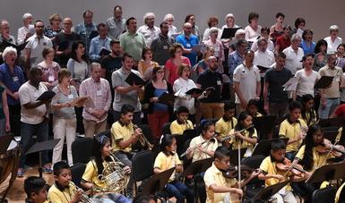 El Coro Air France cantará a beneficio de niños instrumentistas oaxaqueños