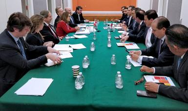 Reunión Bilateral México-Canadá